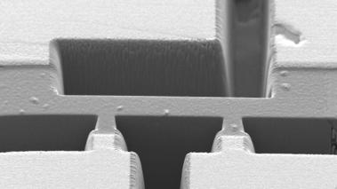 Elektronenmikroskopieultrareinesmetall-Header
